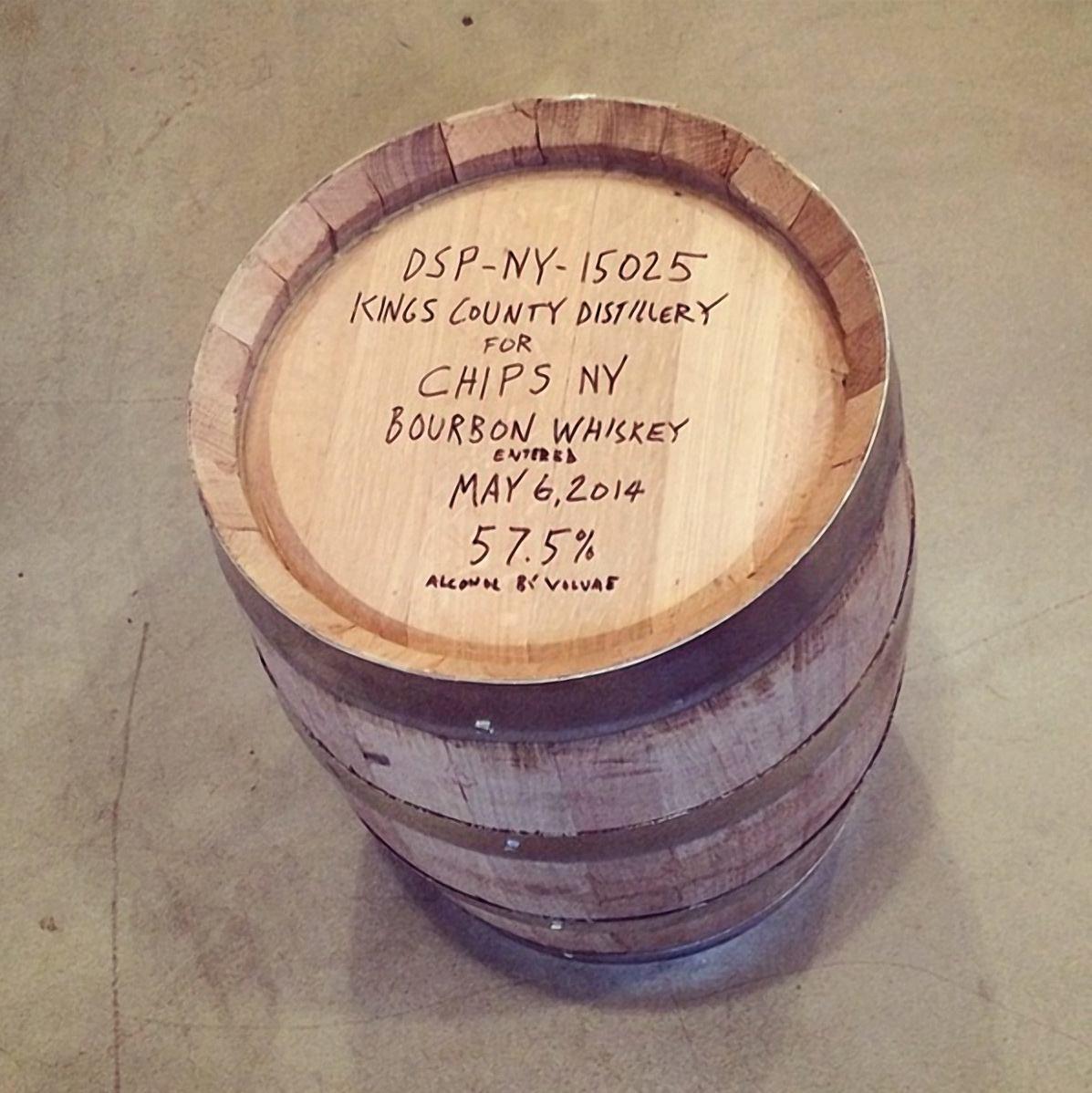 kings county whiskey barrel